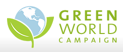Green World Campaign logo
