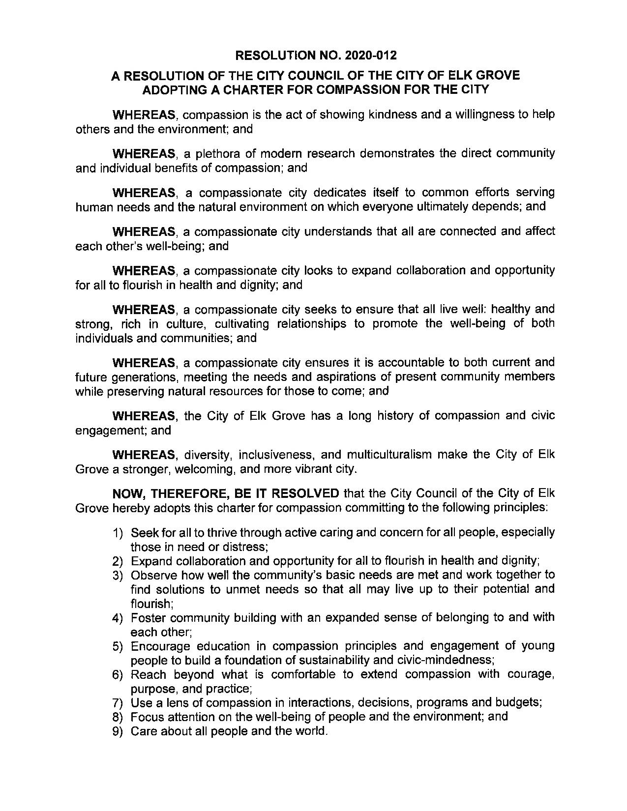 Signed Resolution page 001