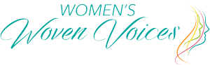 Womens Woven Voices International Collaborative Art Project logo 300px
