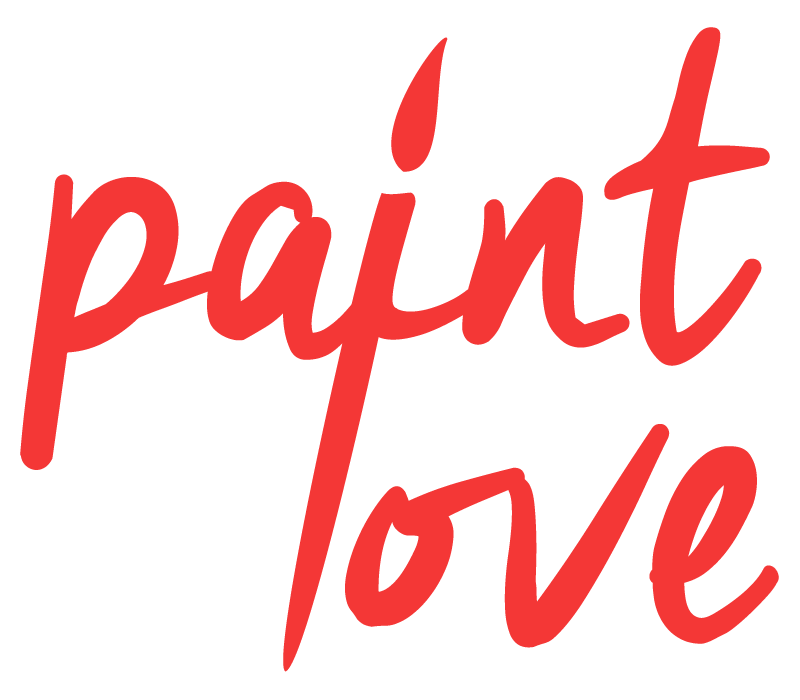 5a1e4acae4831 Paint Love Logo Red