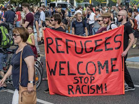 refugees welcome dresden