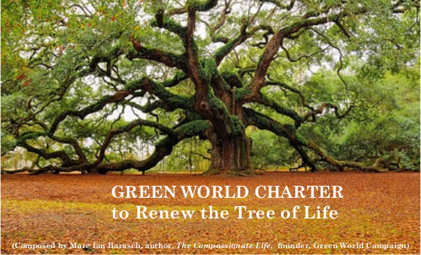 GREEN WORLD CHARTER to Renew the Tree of Life