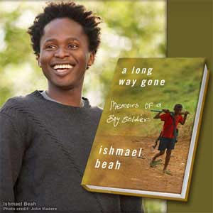 a long way gone His book a long way gone: memoirs of a boy soldier has been published in over thirty languages and was nominated for a quill award in 2007 time magazine named the book as one of the top ten nonfiction books of 2007, ranking it at number three.