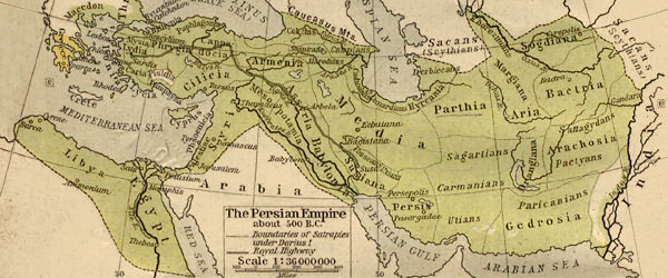 history jewelry persian empire map