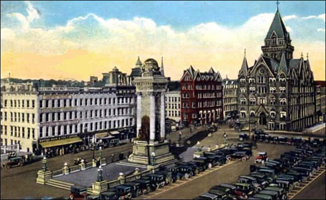 Syracuse 1920 clinton square