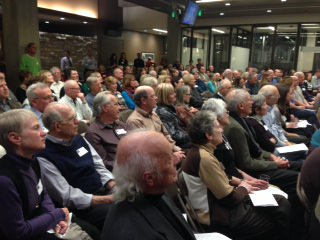 audience at Public Proclamation
