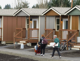 Outstanding Tiny Houses For The Homeless An Affordable Solution Catches On Largest Home Design Picture Inspirations Pitcheantrous