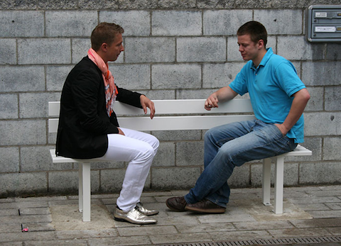 Modified Social Benches An Experiment In Outdoor Socializing